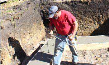 Brewster Veterans Memorial work underway
